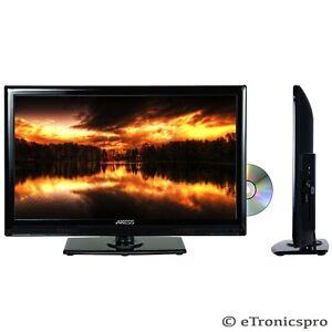 led 22 lcd hd tv hdtv digital tuner television dvd player. Black Bedroom Furniture Sets. Home Design Ideas