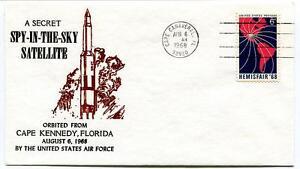 1968 Spy-in-the-sky Secret Satellite Cape Kennedy Usaf Cape Canaveral Nasa Service Durable