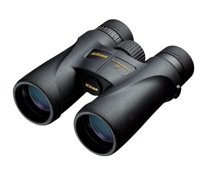Nuevo Nikon Monarch 5 10x42 Compacto Prismáticos 100% Impermeable Modelo