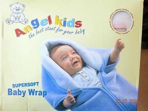 Baby Swaddle Wrap Newborn Infant Blanket Sleeping Bag Fleece Wrap Blue,Pink Bear