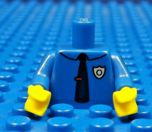 LEGO MINIFIGURES  SERIES 1 THE SIMPSONS X 1 TORSO FOR CHIEF WIGGUM  PARTS