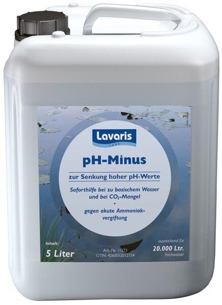 Lavaris pH minus 5 litro para 20 CBM