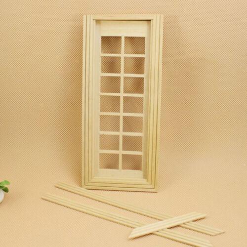 Fashion 1:12 Scale Dollhouse Miniature Furniture Handcrafted Door BIN