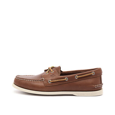 New Sperry A/O 2 Eye Tan Mens Shoes Casual Shoes Flat