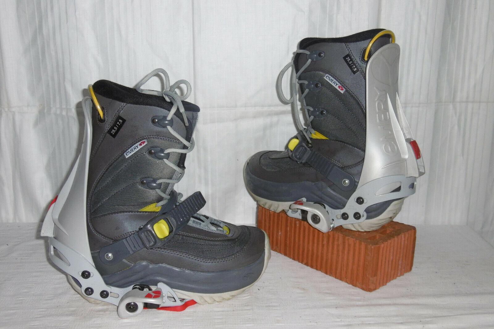 EMERY   ROC SIS     SNOWBOARD STEP-IN Stiefel GR  39 + EMERY STEP-IN BINDUNG 9eb9a3