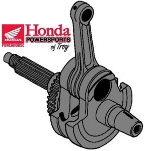 GENUINE-HONDA-OEM-1988-1989-NX650-amp-1993-2019-XR650L-CRANKSHAFT-13000-MN9-000