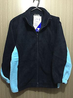 BNWT Boys//Girls Sz 6 LW Reid Maroon//Gold Varsity Letterman Baseball Jacket