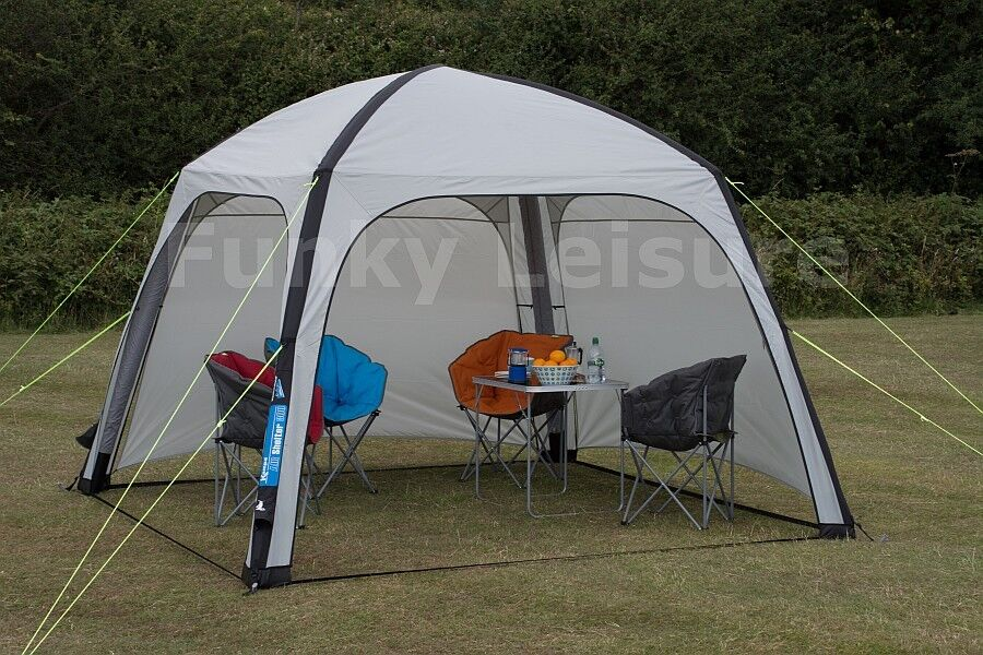 Kampa Air Shelter 300 - Inflatable Gazebo Event Shelter with detachable sides