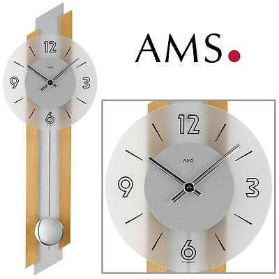 ams wanduhren quarz collection on ebay! - Moderne Wohnzimmeruhr