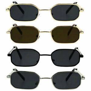 b67c629a81 Ebay Pimp Rectangular Hippie Narrow Rim Sunglasses Metal Mens AnFxRH0qPw