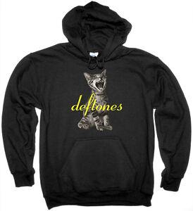 DEFTONES ADRENALINE TEAM SLEEP NU METAL HOODIE NEW BLACK SWEATSHIRT