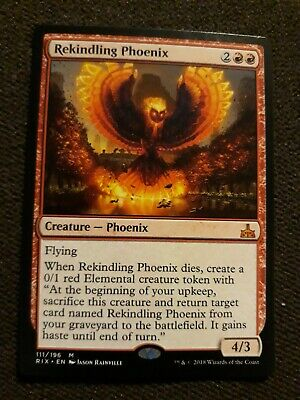 Rivals of Ixalan Mythic Rare Rekindling Phoenix