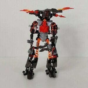 Lego-Bionicle-FIRE-Orange-Red-Black-Gray-AS-SHOWN-BFA22