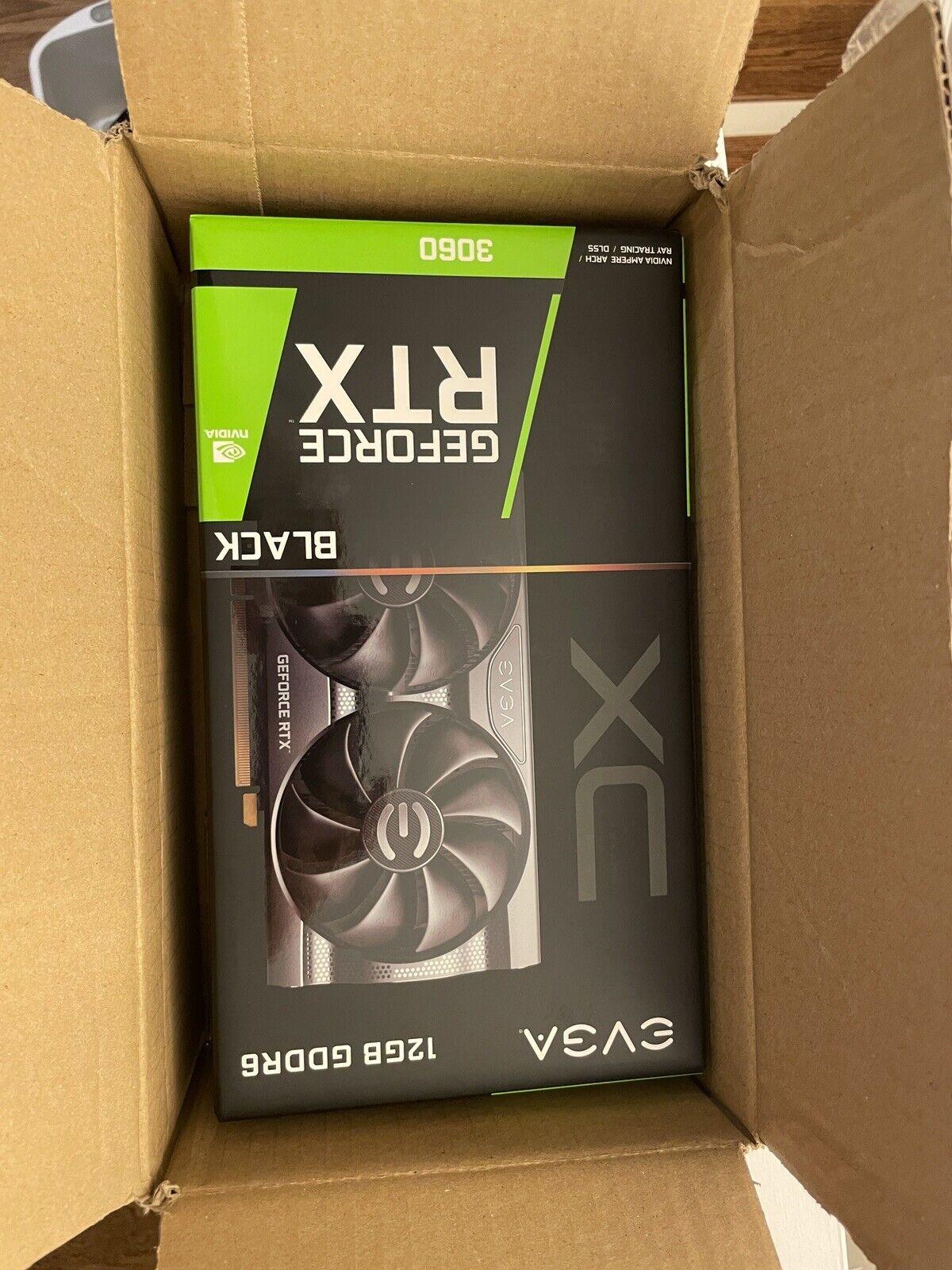 EVGA GeForce RTX 3060 XC BLACK GAMING 12GB GDDR6 Graphics Card