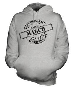 per Made con cappuccio donna In unisex da Felpa uomo March xRInw8qrOR