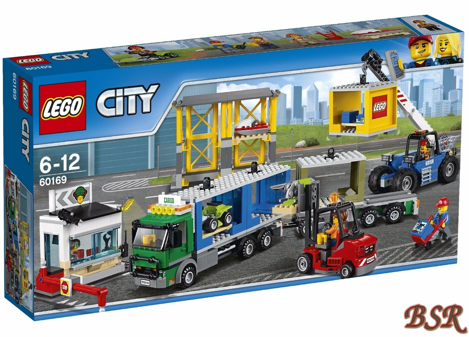 LEGO® City  60169 Frachtterminal & 0.- Versand & NEU & OVP