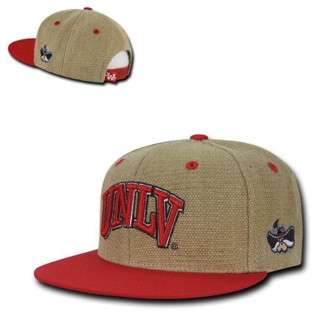 NCAA UNLV U of Nevada Las Vegas Rebels College Fitted Caps Hats