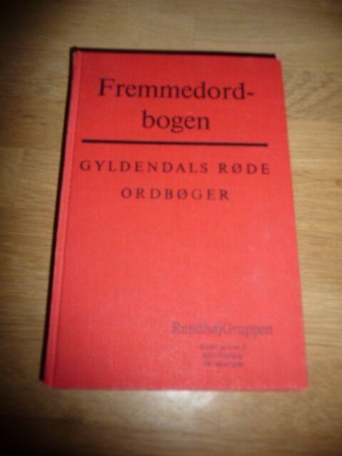 Fremmedordbogen, emne: leksikon