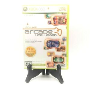 Xbox Live Arcade Unplugged Xbox 360 Tested Complete Not For Resale