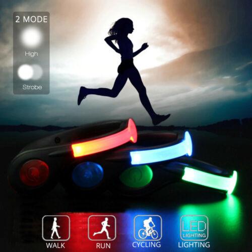 LED Schuh Clip Schuhclip Sicherheit Nacht Outdoor Schuhlicht Sicherheitslicht