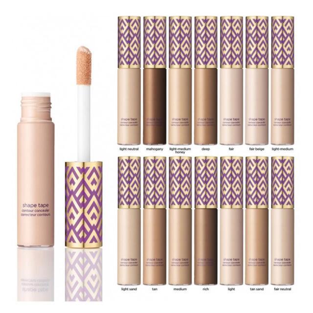 2 In 1 Full Coverage Concealer Shape Tape Contour Concealer Makeup 10ml.