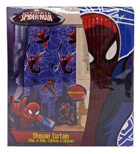 Marvel Spider-Man Spiderman Fabric Shower Curtain