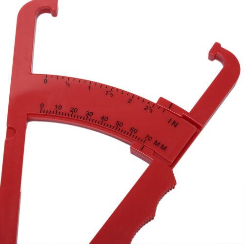 Körperfett Caliper Skin Analyzer Maßnahme Fitness Slim Keep Health Tester Bo ZV