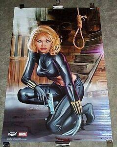 sexy original marvel comics black widow 34 x 22 poster 1