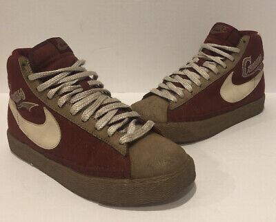 estoy feliz Coronel Ventana mundial  Vintage Nike Blazer High Negro League Pittsburgh Craws Sz 6 RARE 316664-611  | eBay