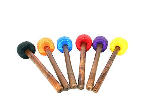 Schlegel für Klangschale und Gong  6-7 cm Schlägel MC33