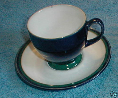 DENBY REGATTA CUP AND SAUCER SET