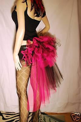 Bellissimo Nuovo Rosa Nero Bambino Adulto Xxl Burlesque Trambusto Tutu Cintura-mostra Il Titolo Originale Per Vincere Una Grande Ammirazione