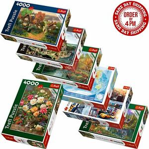 Trefl 4000 Piece Jigsaw Puzzle Landscapes