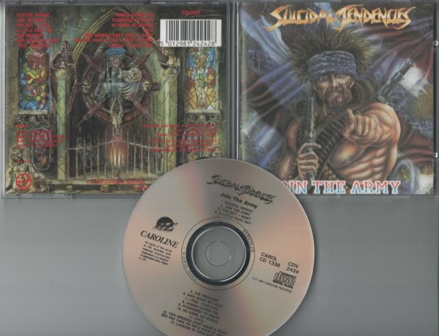 Suicidal Tendencies CD  JOIN THE ARMY   ©  1987