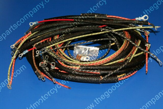 Complete Harley Wiring Harness 1965-1969 FLH. 70321-65 on