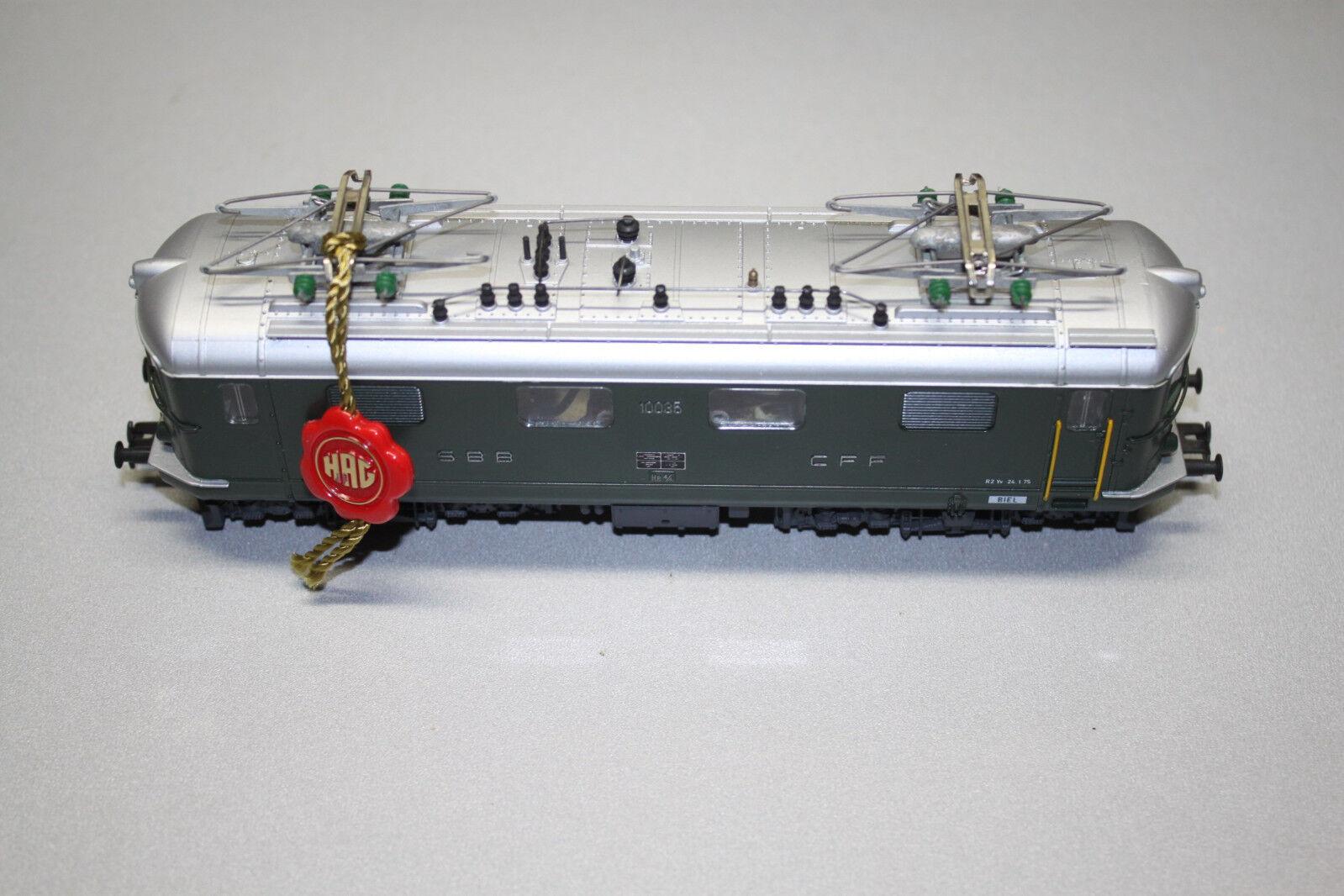 Hag elok serie re 4 4 10035 SBB verde corriente alterna Spur h0