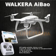 Walkera AIBAO drone camera 4K video in diretta su smarphone FPV GPS devo F8e