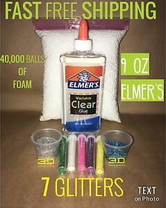 Image Is Loading Elmers Clear Glue Slime Kit Diy Gift