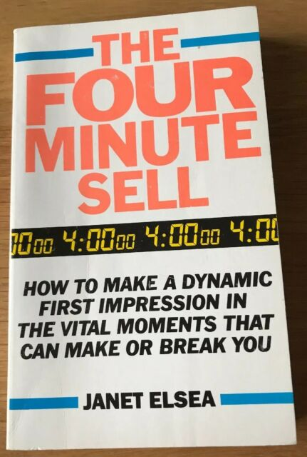 Four Minute Sell by Elsea, Janet 009942620X The Cheap Fast Free Post