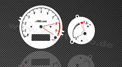 Yamaha TDM 900  Tachoscheiben Tacho TDM900 Gauge dial Temperatur Drehzahlmesser