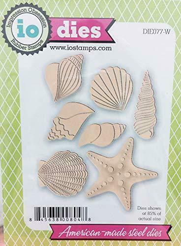 Seashells die cut