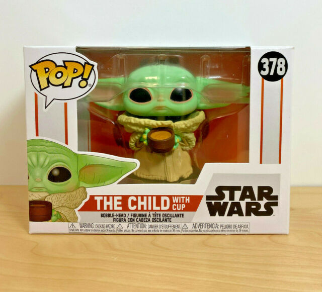 Funko Pop! #378 Star Wars: Mandalorian - The Child with Cup