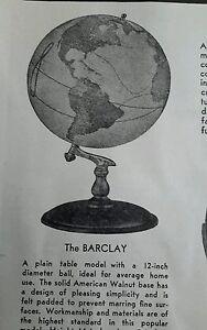 Vintage-1936-Denoyer-Geppert-Geographic-Globe-5-styles-catalog-advertising-ad