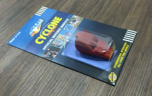 Details about  /Acme Whistles 888 Cyclone Red Pealess High-Pitched Airfast Whistle