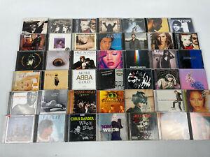 CD-Sammlung-Alben-42-Stueck-Rock-Pop-Hits-siehe-Bilder-u-a-ABBA