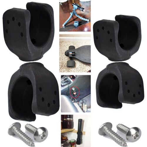 Universal Flashlight Mounting Brackets Mount Clips Holder Rail Mounted for truck