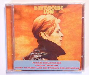 CD-ALBUM-DAVID-BOWIE-LOW-NEUF-SOUS-CELLO-EMI-1999