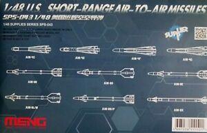 Meng-models-1-48-U-S-a-courte-portee-Missiles-Air-Air-Model-Kit