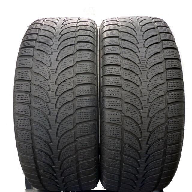 2 x Bridgestone 265/50 r20 107 V 5.2 mm Blizzak lm-80 Evo Pneus Hiver dot18