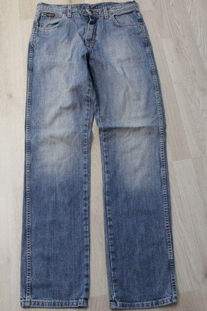 H2534 Wrangler Texas Stretch Jeans W31 Blau Sehr gut  | Qualität zuerst